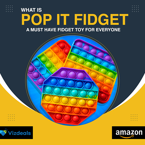 What is a Pop it Fidget Toy