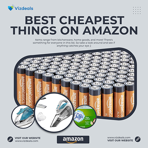 best cheapest things on amazon